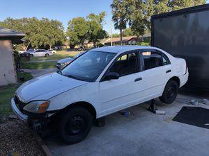 2001 Honda Civic Lx Sedan Parts Car Clean Title for Sale in Orlando, FL