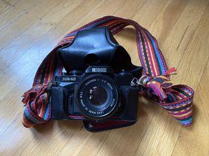 Vintage Ricoh KR-10 SLR Film Camera w/50mm lens for Sale in San Francisco, CA