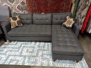 2 PC Sectional Sofa, Grey for Sale in Norwalk, CA