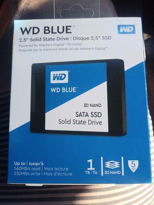 *New*(1tb) WD BLUE 2.5 SSD for Sale in Phoenix, AZ