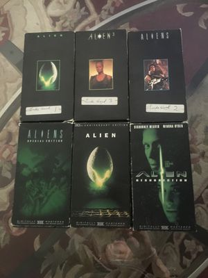 6 Alien movies. for Sale in Upland, CA