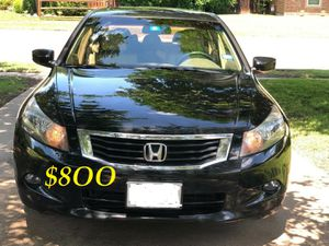 🍁🔥$8OO URGENT I sell my family car 2OO9 Honda Accord Sedan V6 EX-L 𝓹𝓸𝔀𝓮𝓻 𝓢𝓽𝓪𝓻𝓽 Runs and drives very smooth🍁🔥 for Sale in Paterson, NJ