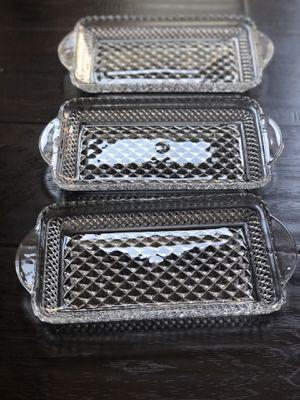 Vintage appetizer plates for Sale in Altadena, CA