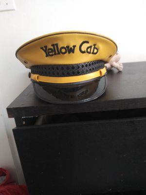 Yellow cab vintage hat for Sale in Denver, CO