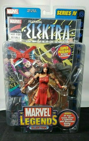 2003 Marvel Legends ELEKTRA Series 4 Action Figure ToyBiz for Sale in Buena Park, CA