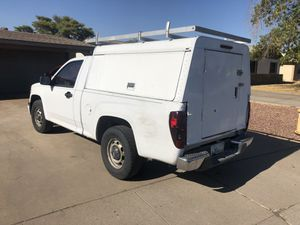Utility Camper Shell with ladder rack for Sale in Phoenix, AZ