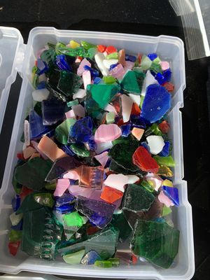Stained glass for arts and crafts for Sale in Dayton, OR