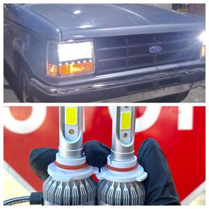 Led Headlights With Free License Plate Lights //luces Led for Sale in Montclair, CA