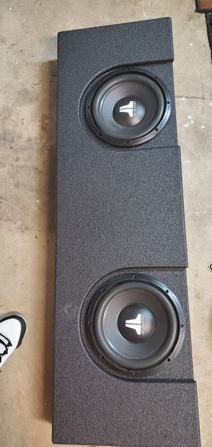 (2) JL 10 inch subs in truck box for sale $160 for Sale in Garland, TX