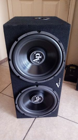 """Auidiopipe 12"""" subwoofers .NEW!!! for Sale in Mesa, AZ"""