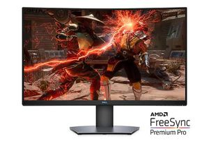 Dell 32 Curved Gaming Monitor - S3220DGF for Sale in Houston, TX