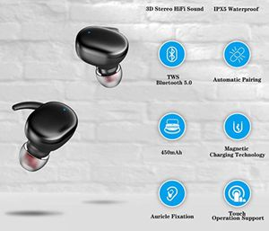 Wireless Bluetooth Earbuds TWS Noise Canceling with Charging Case for Sale in Kennewick, WA