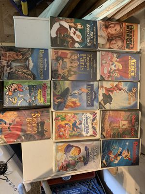 13 Classic VHS movies for Sale in Massapequa, NY