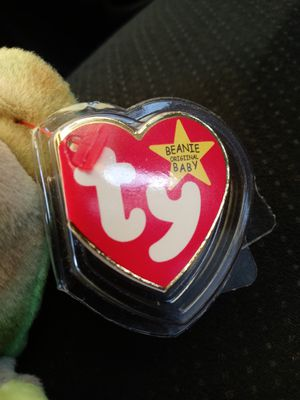 Mint condition rare 1996 peace beanie baby with tag errors for Sale in Fairview, TX