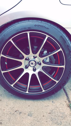 """18"""" rims and tires for Sale in Aurora, IL"""