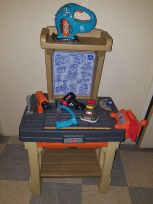 Step 2 bench and tools for Kids for Sale in Rancho Cucamonga, CA