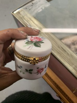 Vintage rose pill box for Sale in Waynesboro, PA