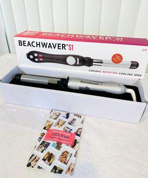 New - The Beachwaver S1 - Ceramic Rotating Curling Iron w/ Box & Paperwork 👏 for Sale in Boynton Beach, FL