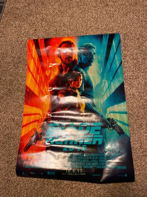 Blade Runner 2049 Authentic Movie Poster for Sale in Denver, CO
