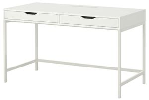 White Ikea desk, assembled, perfect condition for Sale in Fort Lauderdale, FL