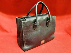 "Dooney & Bourke Black Pebble Leather Hobo Purse Shoulder Hand Bag 12""x 9""tall for Sale in Las Vegas, NV"