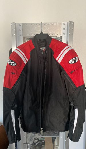 Motorcycle jacket waterproof joerocket joe rocket honda Yamaha Suzuki Bmw Large all season NEW for Sale in Las Vegas, NV