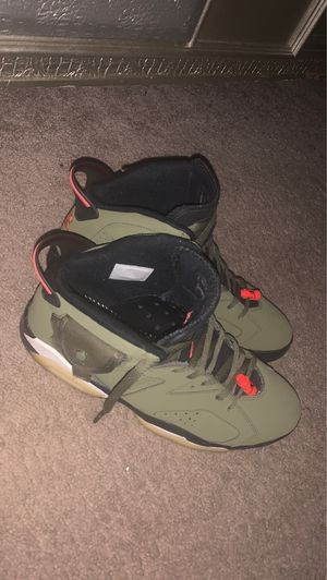 Air Jordan 6 Retro Cactus Jack size 12 no box no soles but all authentic and original. 100% legit original value is at 850$ I'm asking for 550 at lea for Sale in Charlotte, NC