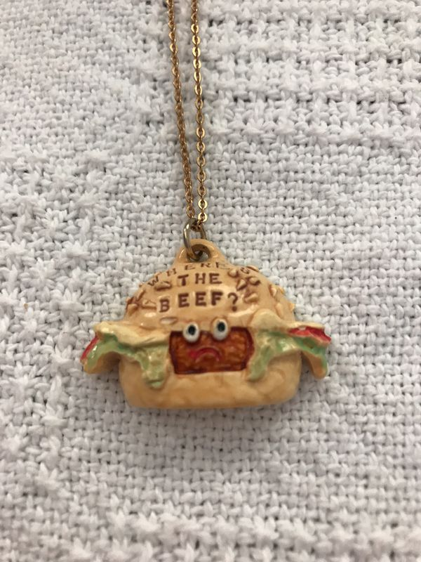 Wendy's Charm necklace