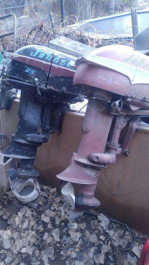Johnson outboard motors non running for Sale in Salt Lake City, UT
