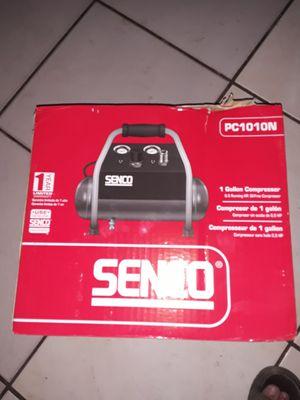 Senco 1 gallon air compressor for Sale in Phoenix, AZ
