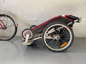 Thule Bike trailer, chariot cougar multi sport bike and jog stroller! for Sale in Arlington, VA