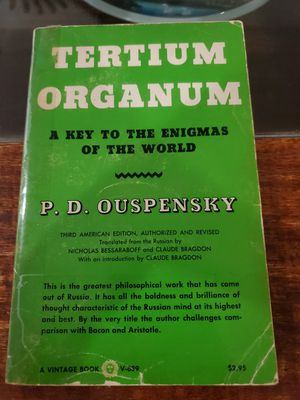 Tertium Organum: A Key To The Enigmas Of The World for Sale in Pasadena, CA