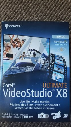 Corel VideoStudio X8 for Sale in Milford,  MI