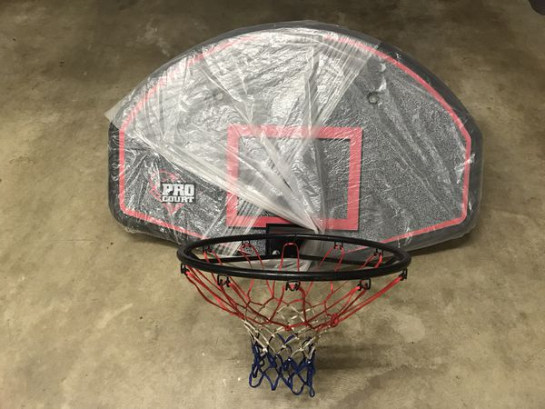 Lifetime Basketball Backboard & Hoop