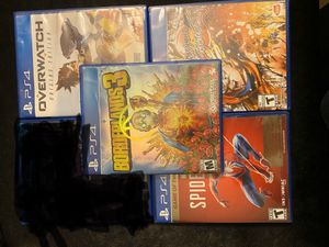 Ps4 Games / Good Condition / Read Description for Prices/ for Sale in Riverside, CA