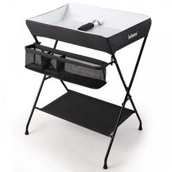 Portable Infant Changing Station Baby Diaper Table with Safety Belt for Sale in Walnut,  CA