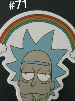 Rick and Morty Sticker for Sale in Salem,  OR