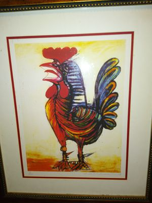 """Pablo Picasso """"the rooster"""" for Sale in Victoria, TX"""