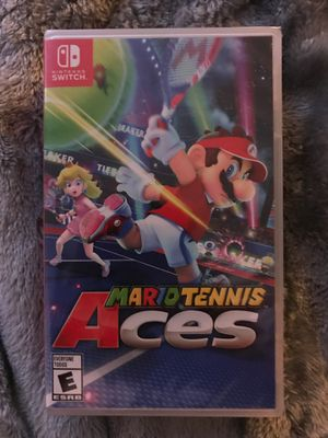 Mario tennis aces Nintendo switch new unopened sealed for Sale in Fresno, CA