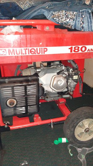Welder and generator for Sale in Yukon, OK