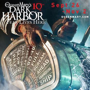 Queen Mary Dark Harbor tickets ( 2 Tickets+ 2 Fast Passes) for Sale in Los Angeles, CA