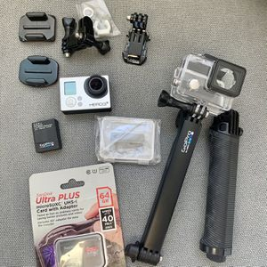 GoPro Hero 3+ With Accessories for Sale in San Diego, CA