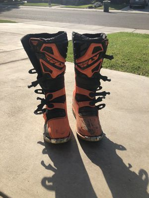 Men's Fly Racing Dirt bike boots for Sale in Ripon, CA