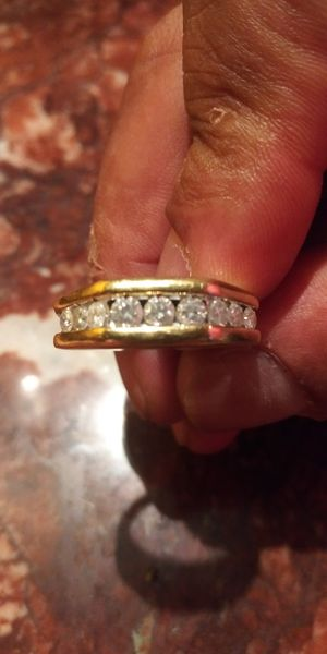 Diamond yellow gold ring for Sale in Lowell, MA