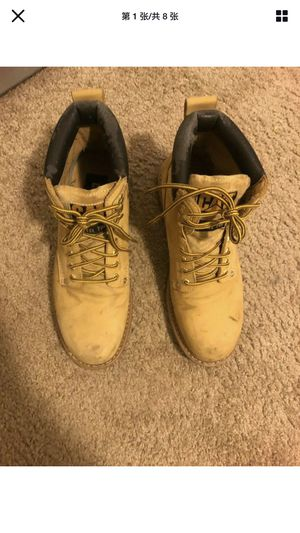 """Pre- owned Mens Caterpillar P70042 CAT Second Shift EH SR 6"""" Work HONEY Boots for Sale in Florence, KY"""
