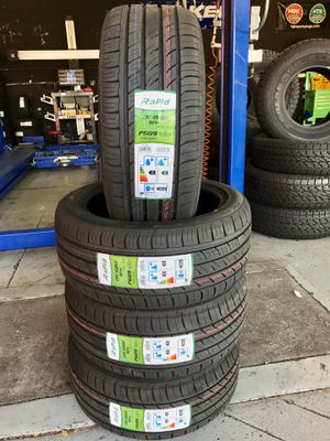 BRAND NEW SET OF TIRES 235/45/17 for Sale in Bloomington, CA