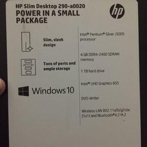 HP Slim Desktop for Sale in Upper Marlboro, MD