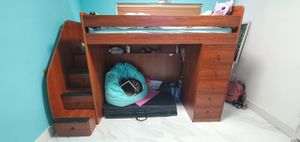 Twin and full bunk bed with matrix for Sale in West Palm Beach, FL