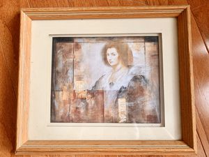 Queen Elizabeth Portrait With Frame for Sale in Memphis, TN
