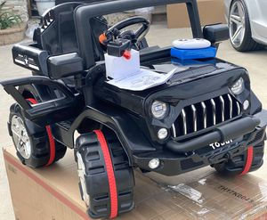 BRAND NEW Jeep 12volt REMOTE CONTROL MODEL electric kid ride on car power wheels for Sale in Los Angeles, CA